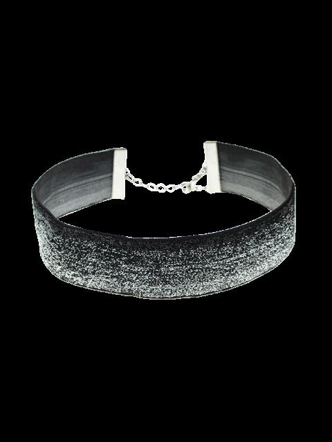 unique Adorn Velvet Necklace -   Mobile