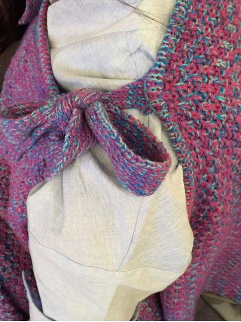 shop Knitted Mermaid Design Throw Blanket -   Mobile
