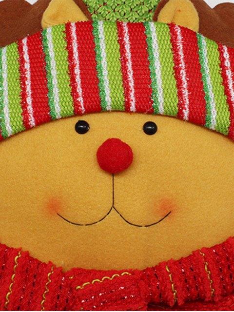 buy Merry Christmas Reindeer Star Pillow -   Mobile