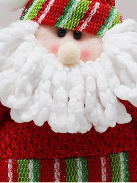 womens Christmas Party Decorative Stretched Santa Puppet Toy -   Mobile