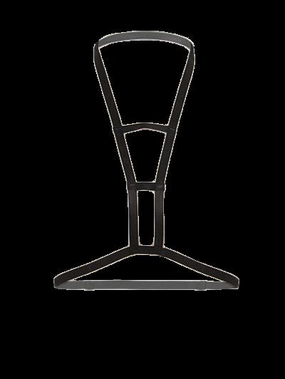 Cut Out Bra Bondage Harness Body Jewelry - BLACK  Mobile
