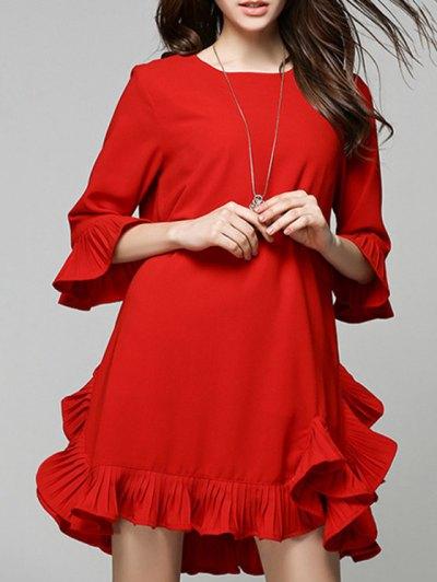 Short Red Dress party very short dress