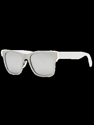 Plata Gafas De Sol Wayfarer - Plata