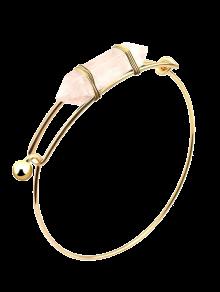 Vintage Natural Stone Bullet Shape Bracelet