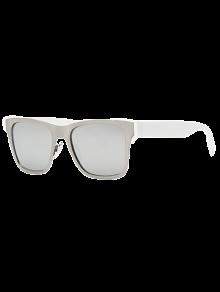 Plata gafas de sol Wayfarer