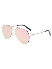 Lightweight Mirrored Pilot Sunglasses