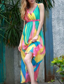 Sleeveless Multi-Colored Sundress