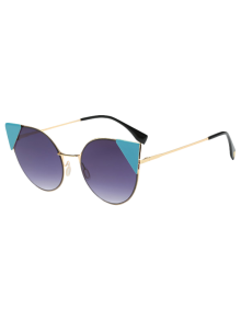 Triangle Insert Cat Eye Sunglasses