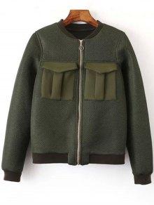 Big Pocket Mesh Design Pilot Jacket