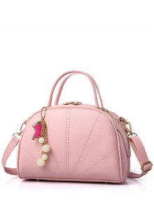 Pendant Stitching Candy Color Tote Bag