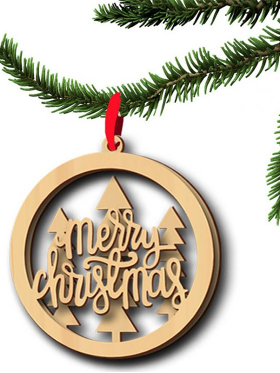 Christmas Tree Hollow Out Hanging Pendants Decoration -   Mobile