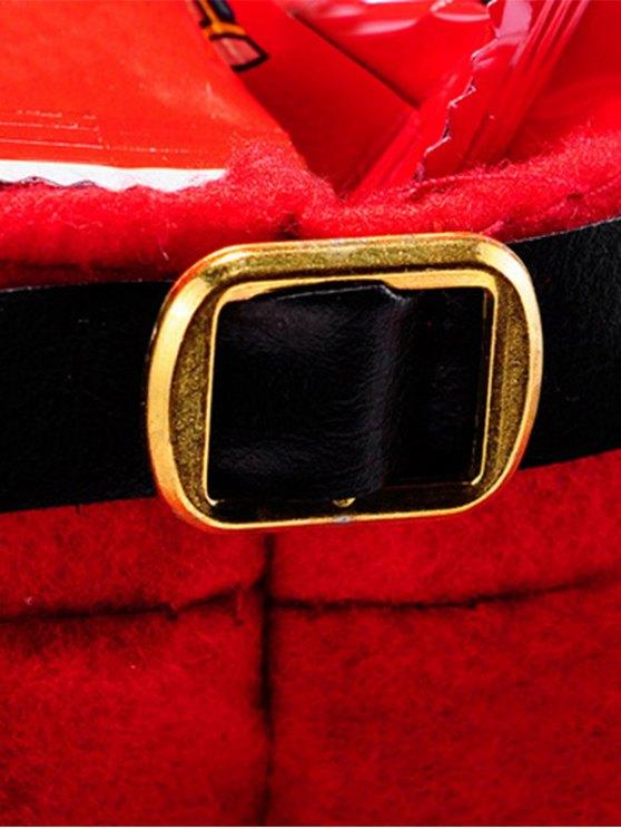 Christmas Santa Pants Red Wine Bag -   Mobile