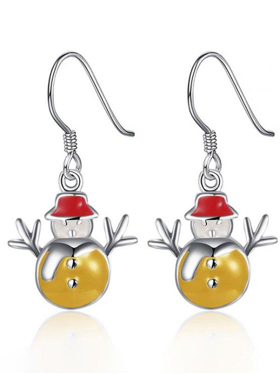 Enamel Snowman Christmas Jewelry Set -   Mobile