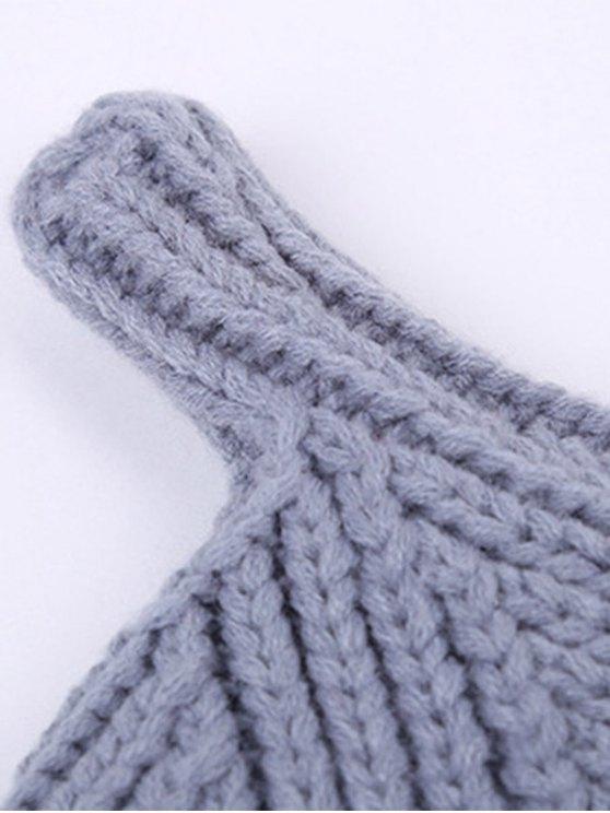 Winter Teat Shape Knit Hat -   Mobile