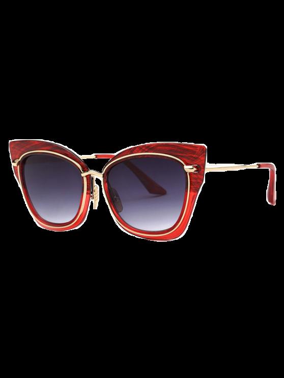 affordable Vintage Cat Eye Sunglasses - RED