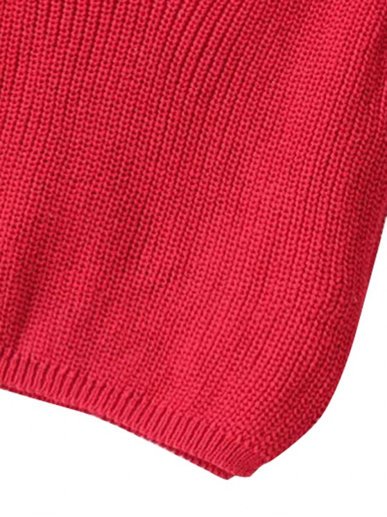 Ribbed Sleeveless Knitted Tank Top - PINK ONE SIZE(FIT SIZE XS TO M) Mobile