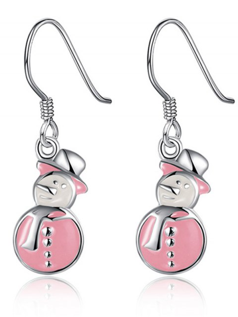 best Enamel Snowman Christmas Drop Earrings -   Mobile