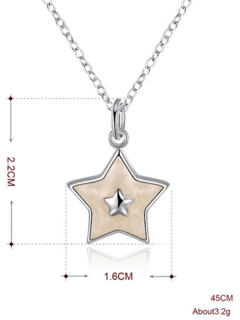 online Polished Christmas Star Jewelry Set -   Mobile