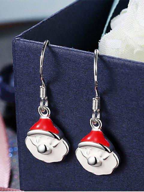 outfits Christmas Santa Claus Enamel Jewelry Set -   Mobile