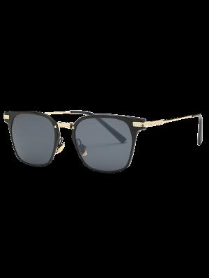 Completo Llanta Gafas De Sol De La Mariposa - Negro
