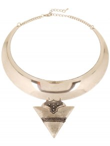 Chunky Triangle Torque Necklace