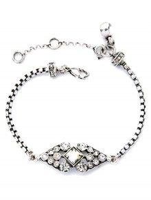 Rhombus Rhinestone Bracelet