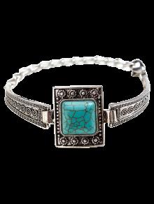 Place Faux Turquoise Boho Bracelet Bijoux