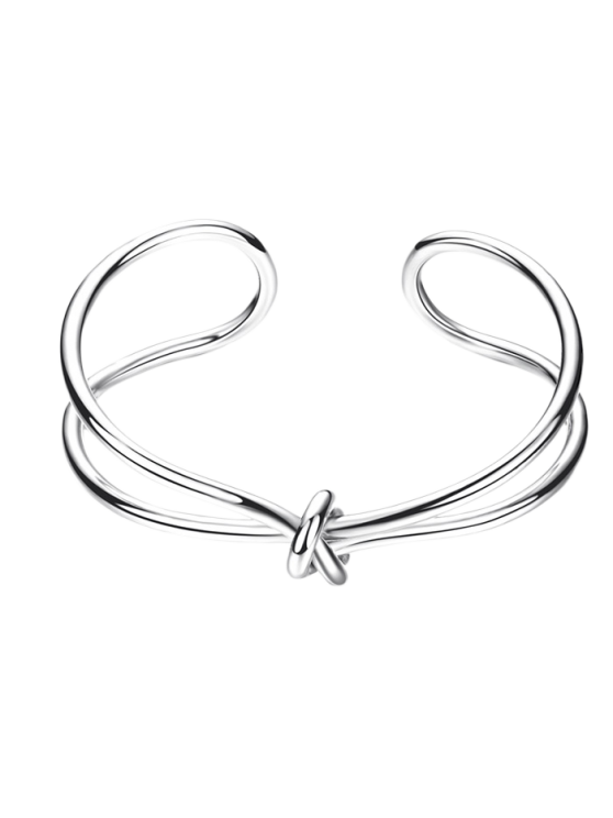 buy Infinite Knot Bracelet - SILVER