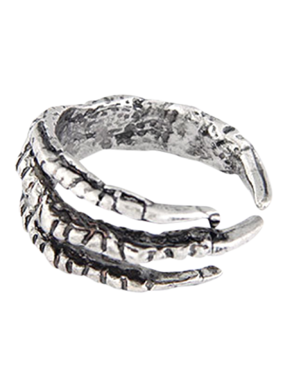 lady Vintage Eagle Claw Ring - SILVER