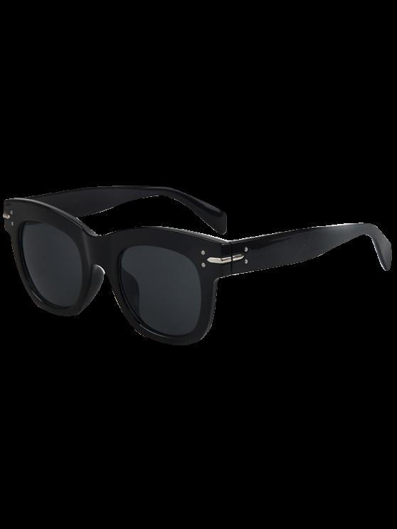 Retro Rewind gafas de sol Wayfarer - Negro
