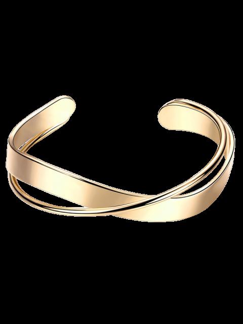 ladies Crossover Cuff Bracelet -   Mobile