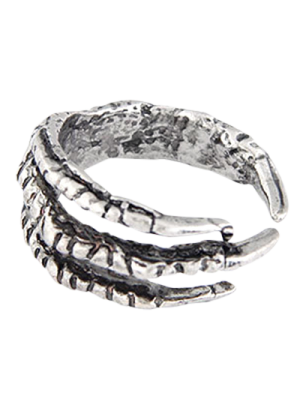 Vintage Eagle Claw Ring - Silver