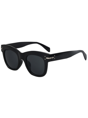 Retro Rewind Sunglasses - Black