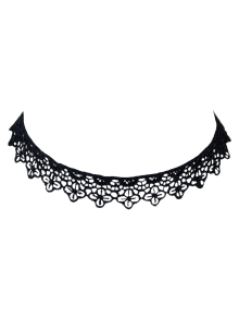 Lace Floral Hollow Out Choker