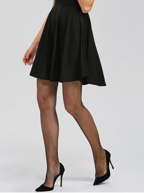 Sheer Fishnet Tights - BLACK ONE SIZE Mobile