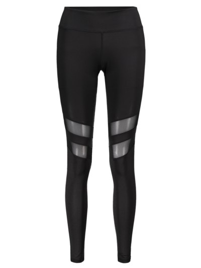 Mesh Patchwork Sporty Leggings