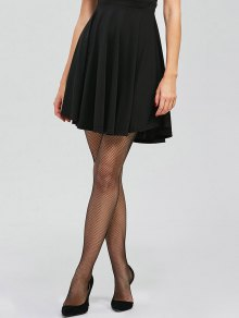 Medias De Red Sheer - Negro