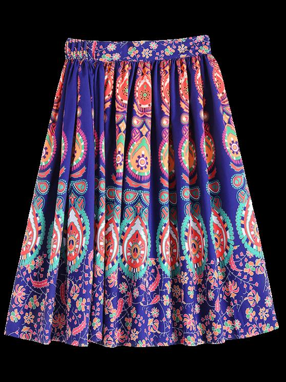 Modelo retro de la falda del vestido de bola - COLORIDO S