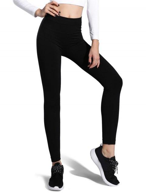 trendy Game On High Rise Leggings - WHITE M Mobile