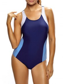 Tricolor Slimming Swimsuit