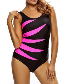 Lace Up Tummy Control Swimsuit