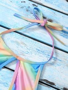 Lazo del lado del lazo bikini