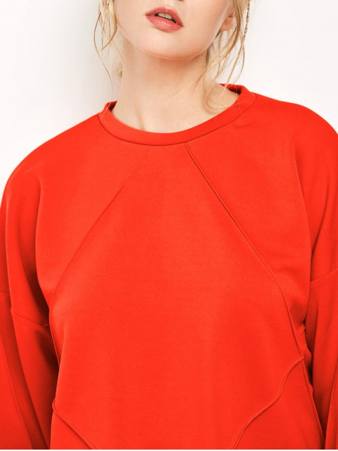 chic Oversized Sweatshirt - JACINTH S Mobile