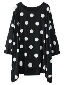 Baggy Polka Dot Blouse