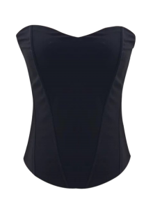 Strapless Corset Tank Top