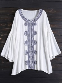 Tunic Embroidered Cover Up