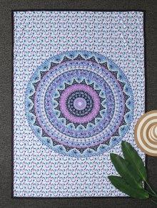 Arab Print Tapestry Beach Throw