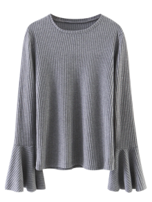 Layering Flare Sleeve Top