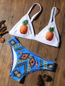 Pineapple Padded Cute Bathing Suit