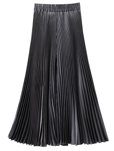 Cropped Pleated Wide Leg Pants